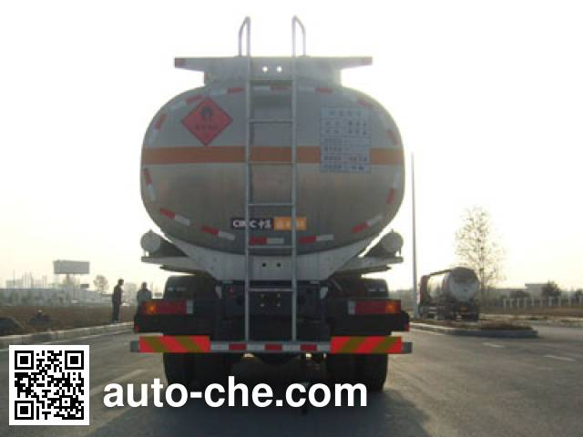 CIMC Lingyu CLY5310GRY flammable liquid tank truck