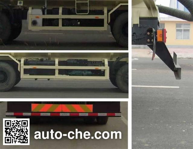 CIMC Lingyu CLY5311GFLA13 low-density bulk powder transport tank truck