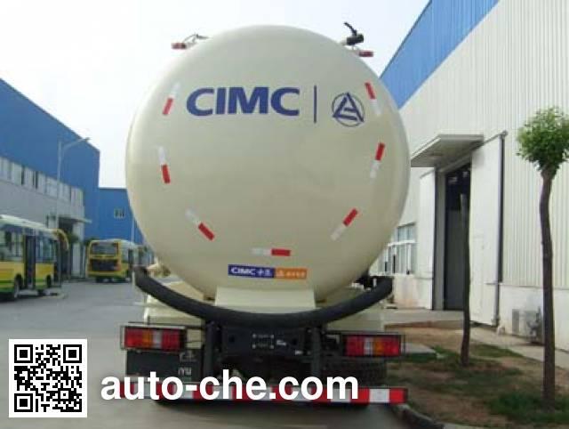 凌宇牌CLY5312GFL1粉粒物料运输车