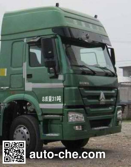 CIMC Lingyu CLY5317GFLZZ low-density bulk powder transport tank truck