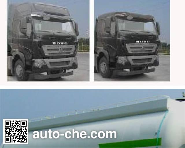 CIMC Lingyu CLY5317GFLZZ1 low-density bulk powder transport tank truck