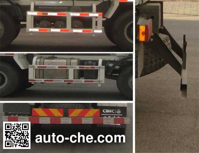 CIMC Lingyu CLY5317GJB7 concrete mixer truck