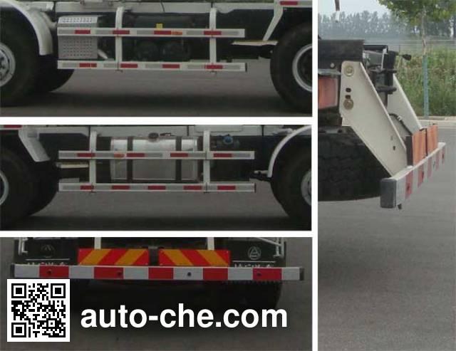 CIMC Lingyu CLY5318GJB36E5 concrete mixer truck