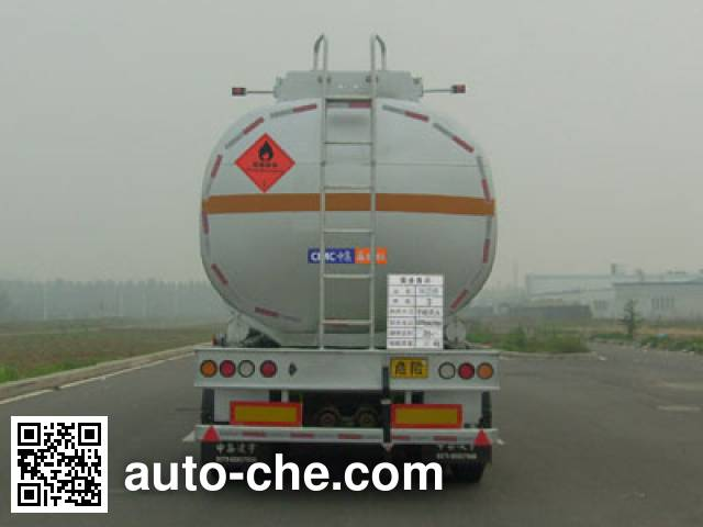 CIMC Lingyu CLY9350GRY flammable liquid tank trailer