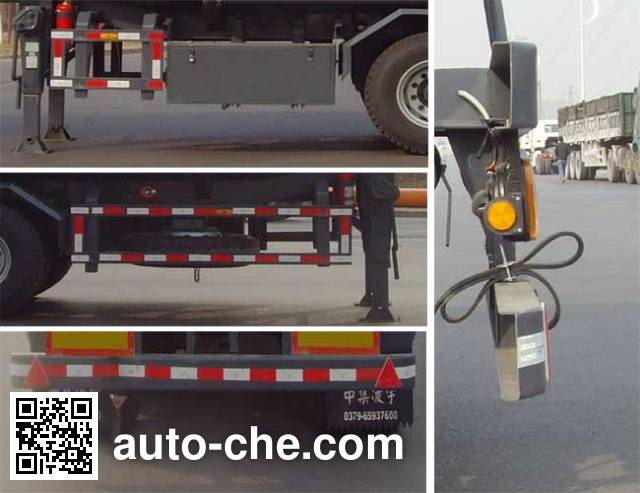 CIMC Lingyu CLY9350GRY flammable liquid tank trailer