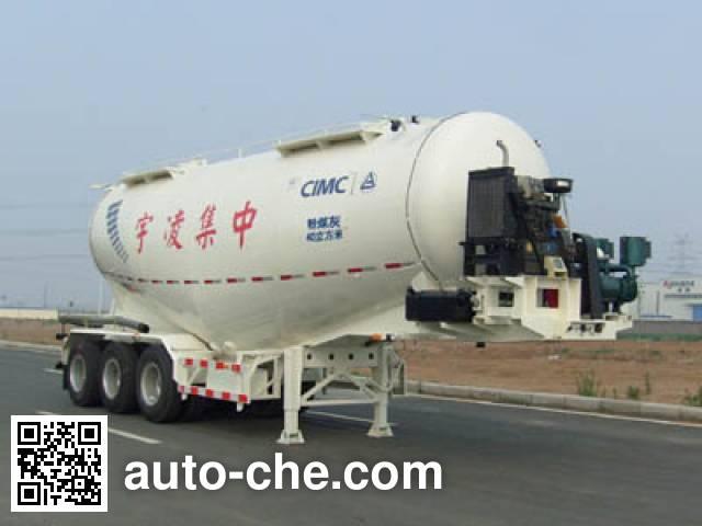 CIMC Lingyu CLY9400GFL medium density bulk powder transport trailer