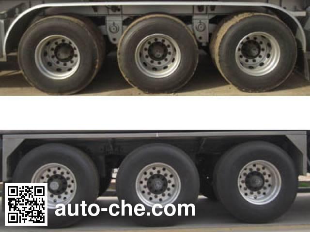 CIMC Lingyu CLY9401GRY flammable liquid tank trailer
