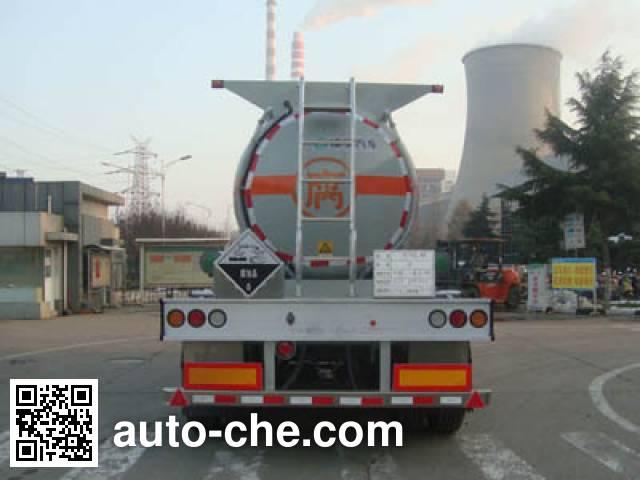 CIMC Lingyu CLY9400GFWA corrosive materials transport tank trailer