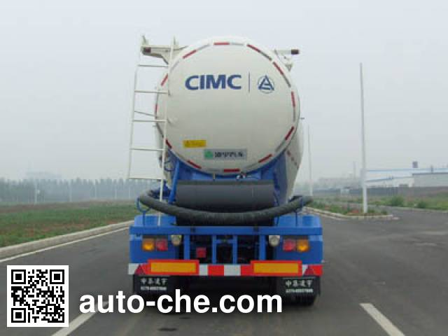 CIMC Lingyu CLY9401GFL medium density bulk powder transport trailer
