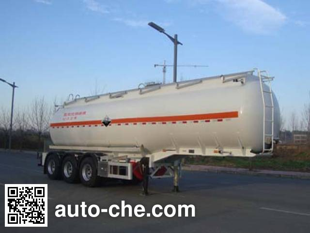 CIMC Lingyu CLY9401GFW corrosive materials transport tank trailer