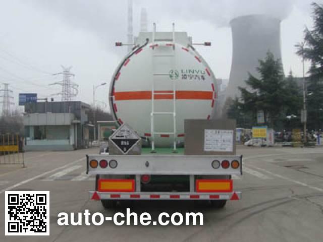 CIMC Lingyu CLY9401GFWA corrosive materials transport tank trailer