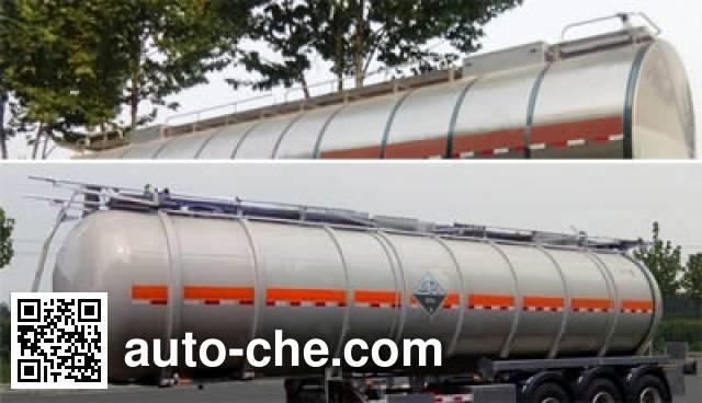 CIMC Lingyu CLY9401GFWB corrosive materials transport tank trailer