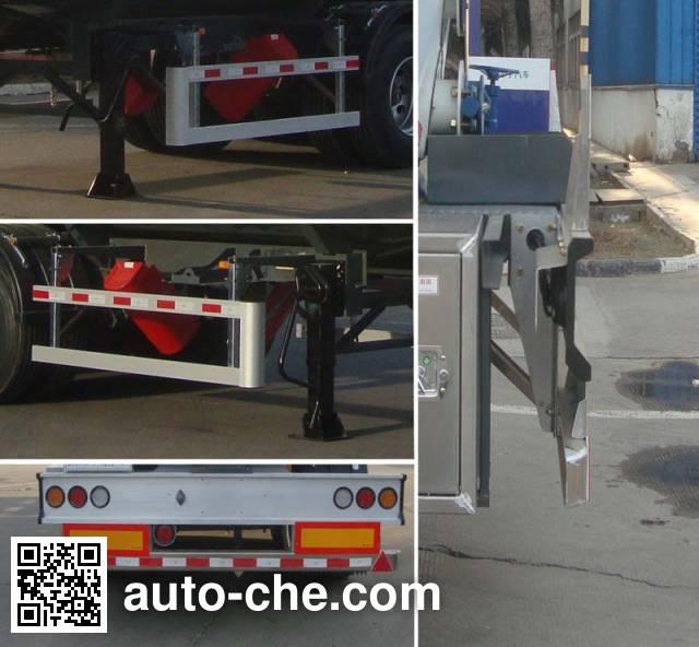 CIMC Lingyu CLY9401GLY liquid asphalt transport tank trailer