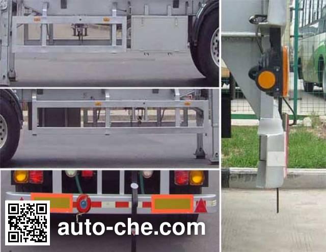 CIMC Lingyu CLY9401GRYA flammable liquid tank trailer