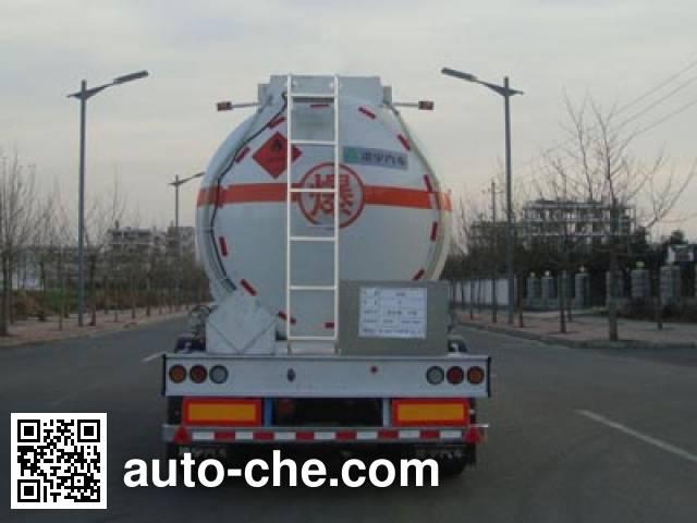 CIMC Lingyu CLY9401GRYQ flammable liquid aluminum tank trailer