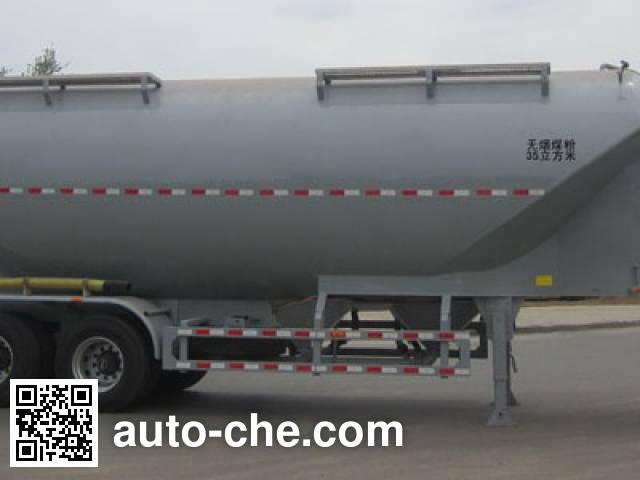 CIMC Lingyu CLY9402GFLA medium density bulk powder transport trailer