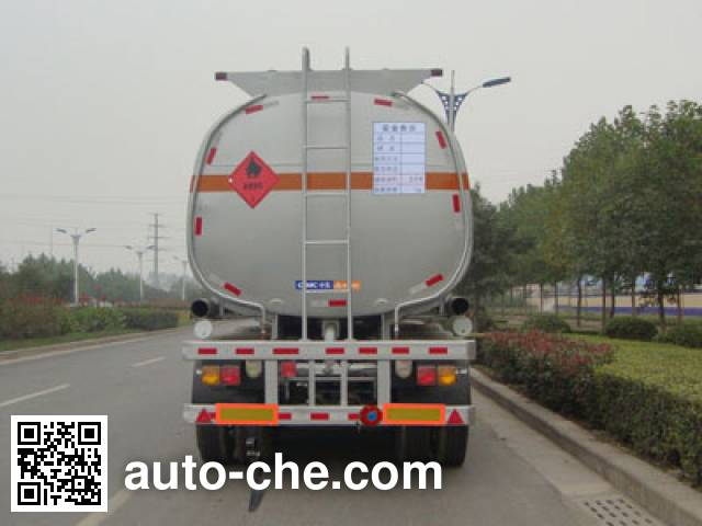 CIMC Lingyu CLY9402GRY flammable liquid tank trailer