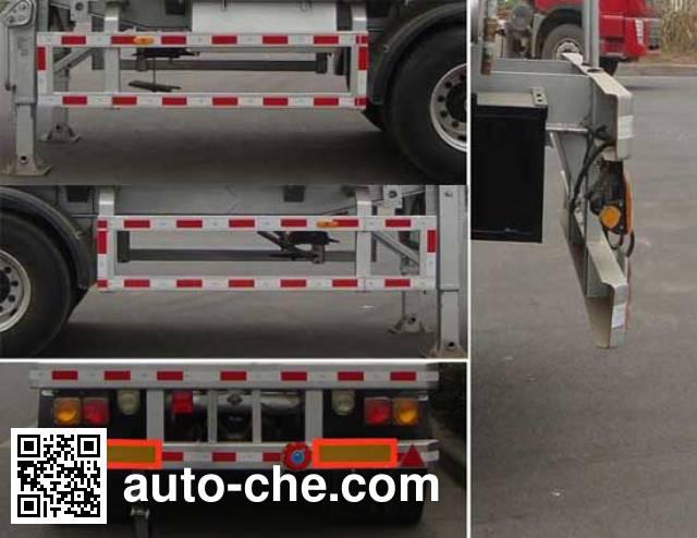 CIMC Lingyu CLY9404GRYA flammable liquid tank trailer