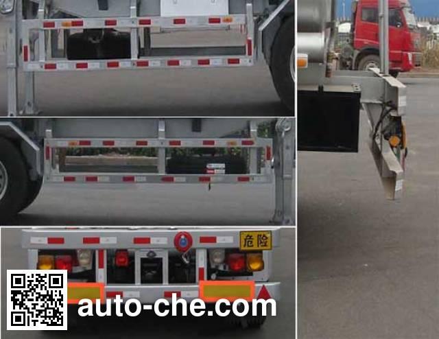 CIMC Lingyu CLY9404GRYB flammable liquid tank trailer
