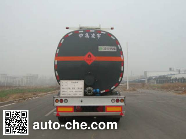 CIMC Lingyu CLY9404GRYE flammable liquid tank trailer
