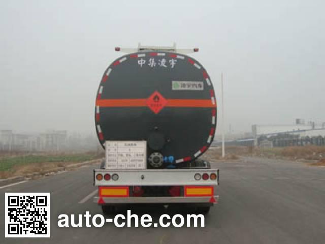 CIMC Lingyu CLY9404GRYE flammable liquid tank trailer