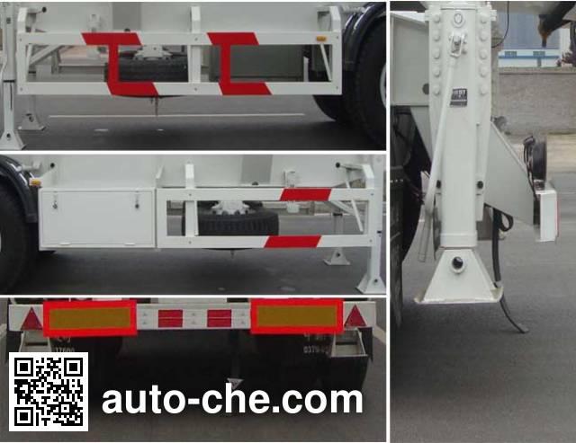 凌宇牌CLY9405GFLC铝合金中密度粉粒物料运输半挂车