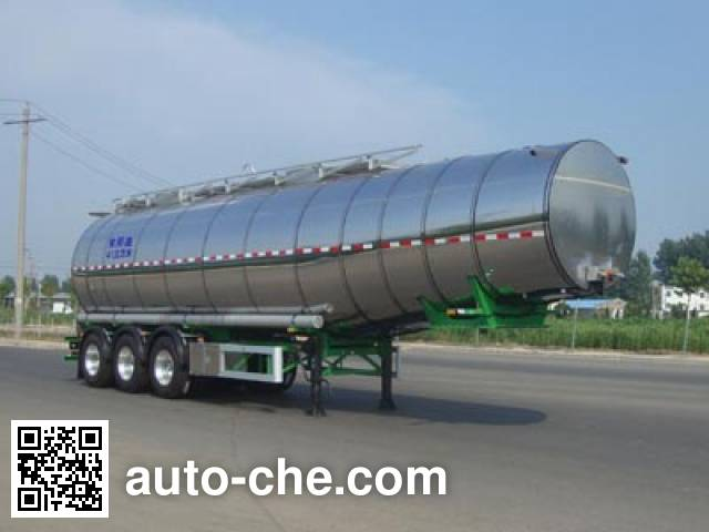 CIMC Lingyu CLY9405GSY edible oil transport tank trailer