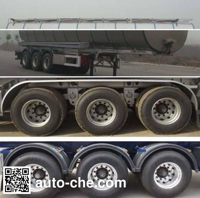CIMC Lingyu CLY9405GSYA edible oil transport tank trailer