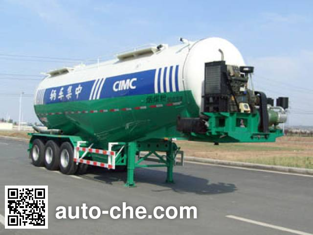 CIMC Lingyu CLY9406GFL low-density bulk powder transport trailer