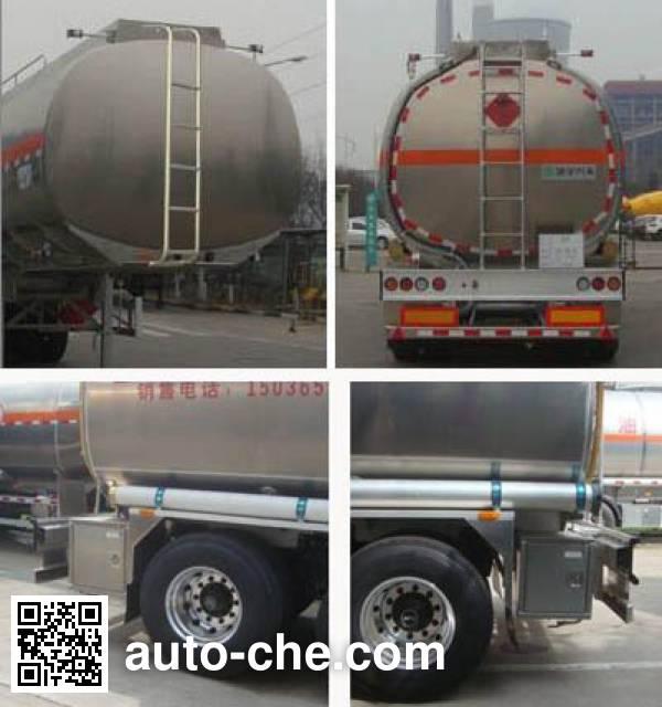 CIMC Lingyu CLY9407GYYC aluminium oil tank trailer