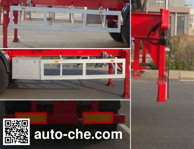 CIMC Lingyu CLY9408GRYA flammable liquid tank trailer