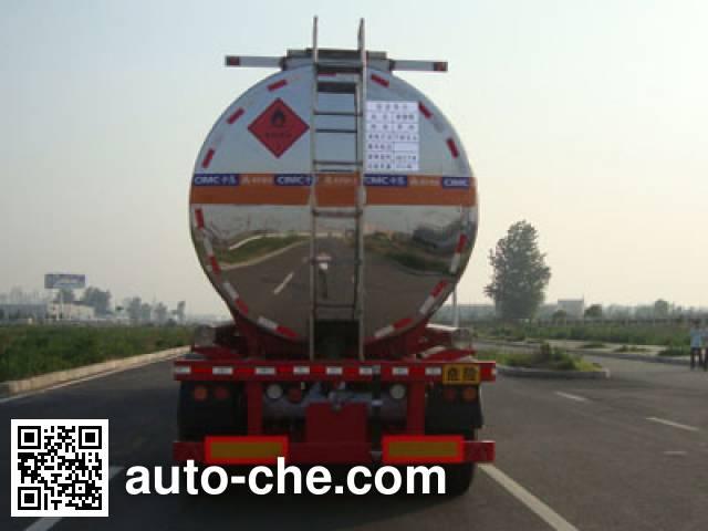 CIMC Lingyu CLY9408GRYL flammable liquid tank trailer