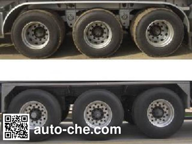 CIMC Lingyu CLY9408GRYQ flammable liquid tank trailer