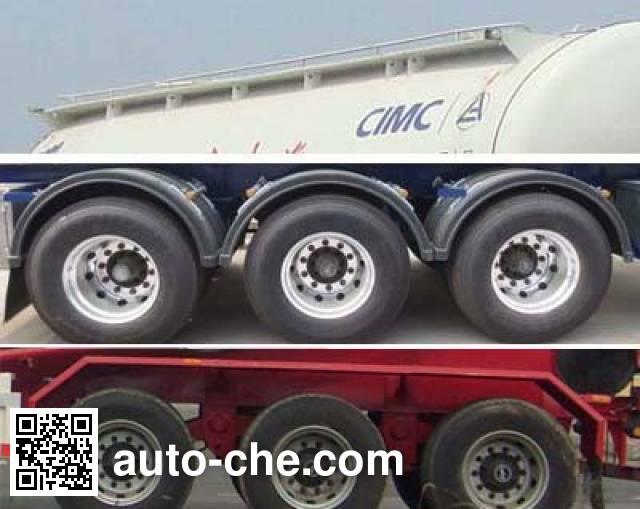 CIMC Lingyu CLY9401GFL1 medium density bulk powder transport trailer