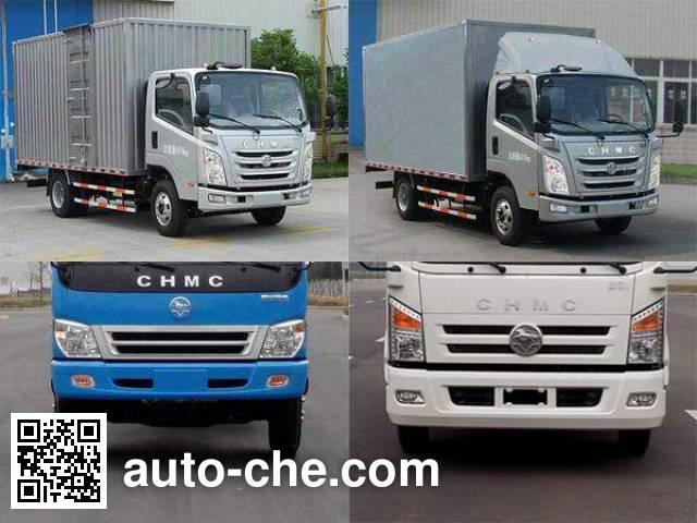 CNJ Nanjun CNJ2040XXYZDB33M cross-country box van truck