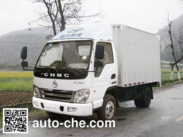 CNJ Nanjun CNJ5030XXYWDA26M box van truck