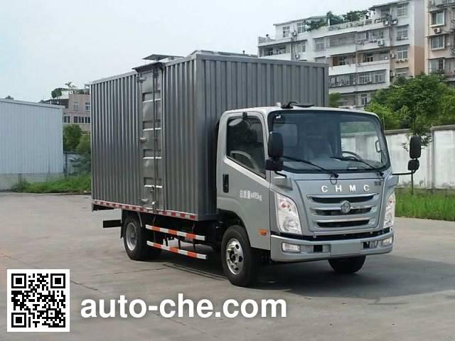 南骏牌CNJ5080XXYZDB33M厢式运输车