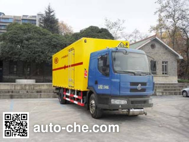 Putian Hongyan CPT5160XQY explosives transport truck