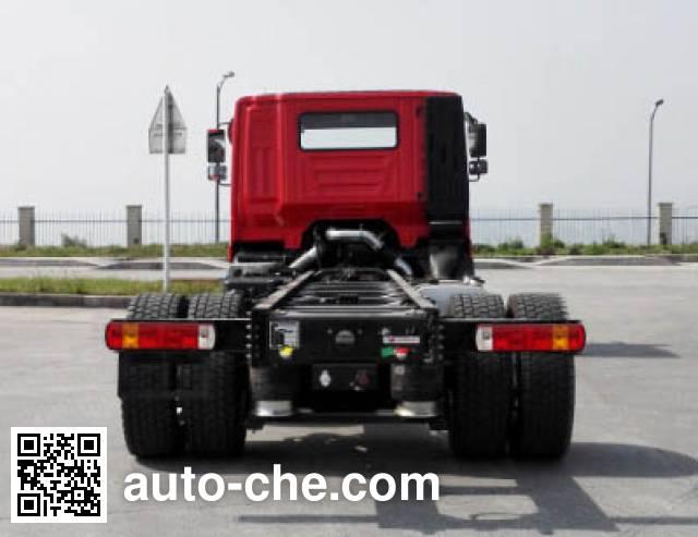 红岩牌CQ1186TCLHMVG681载货汽车底盘