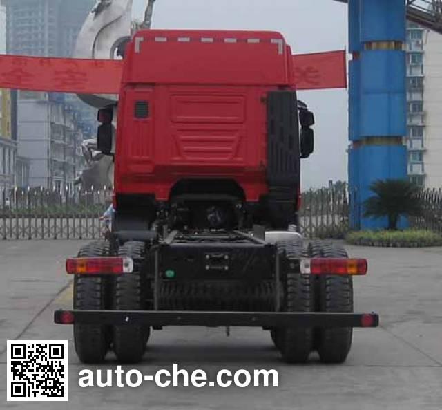 红岩牌CQ1255HMG50-594载货汽车底盘