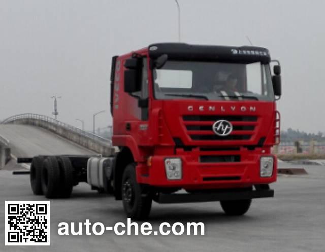 红岩牌CQ1256HTVG50-594载货汽车底盘