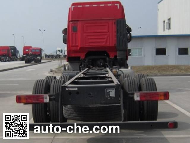 红岩牌CQ1314HXG46-486载货汽车底盘