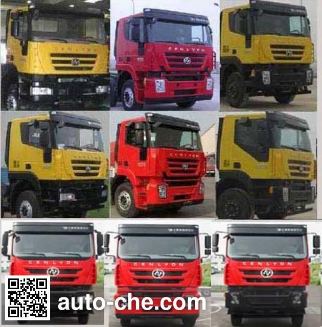 SAIC Hongyan CQ1316HTG30-336Z truck chassis