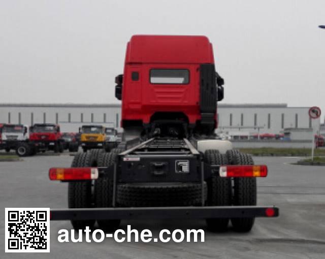 红岩牌CQ1316HXVG39-486载货汽车底盘