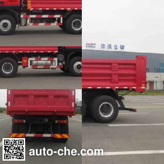 SAIC Hongyan CQ3255HTDG334S dump truck