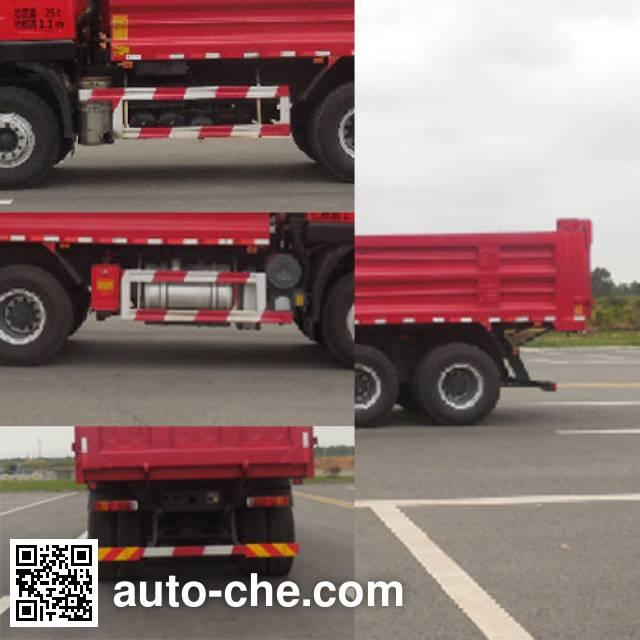 SAIC Hongyan CQ3255HTDG384BS dump truck