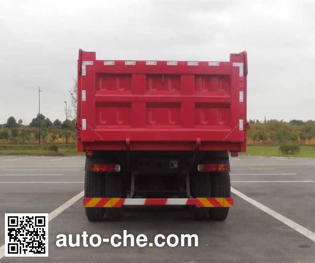 SAIC Hongyan CQ3255HTDG384L dump truck