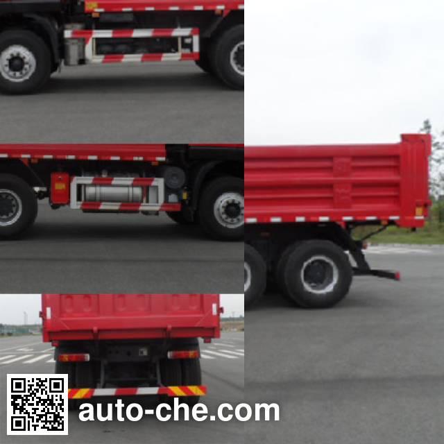 SAIC Hongyan CQ3255HTDG444L dump truck