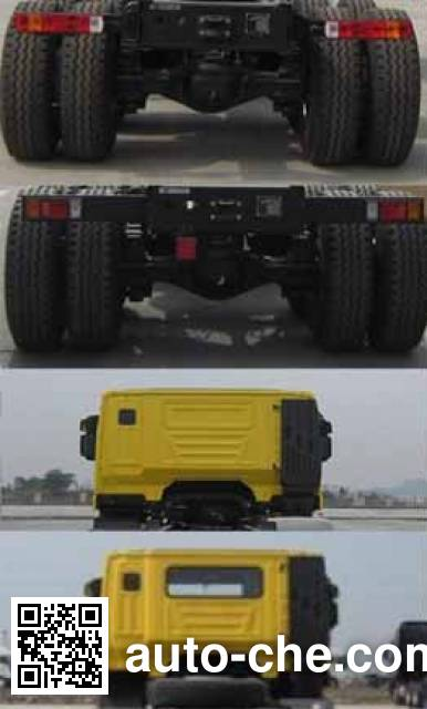 SAIC Hongyan CQ3255HTDG424L dump truck