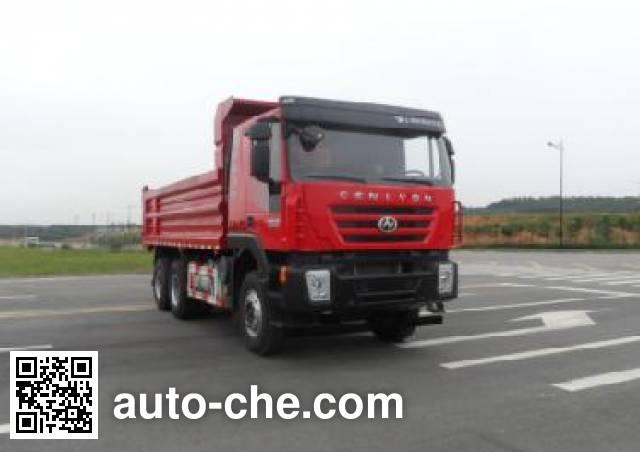 SAIC Hongyan CQ3255HTDG474L dump truck